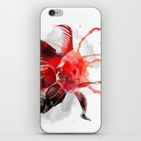 goldfish iPhone & iPod Skins featuring Goldfish by Robert Farkas