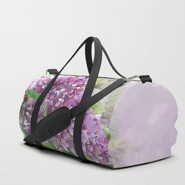 Soft Lilac Duffle Bag