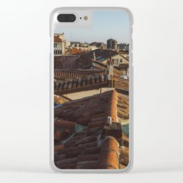 Tramonto a Milano Clear iPhone Case