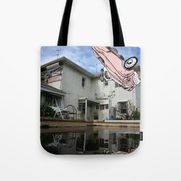 Car Pool Tote Bag