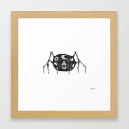 Hamstaraignée Framed Art Print