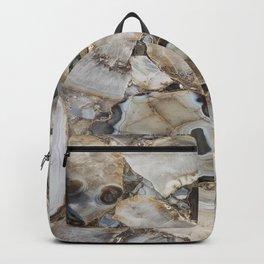 Beige Agate Backpack