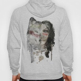 The Wolf Lady  Hoody