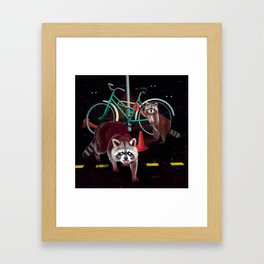 Lil' Thieves Framed Art Print