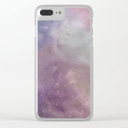 Galaxy Dreamscape Clear iPhone Case