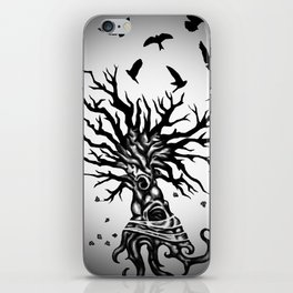 under dry roots. iPhone Skin