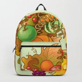 Fall Wreath Backpack