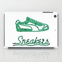 sneakers iPad Cases featuring Sneakers by CREAM
