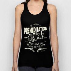 Premeditation - Social Suicide Unisex Tank Top