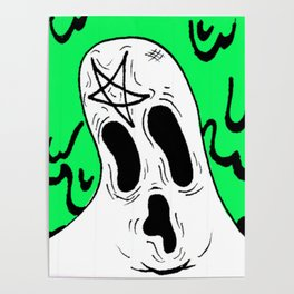 """Ghost boy"" Poster"