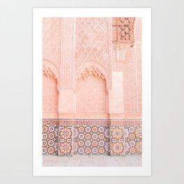 Marrakech Ben Youssef Art Print