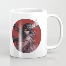 Red sun Coffee Mug