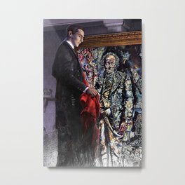 Dorian Gray Revisited Metal Print