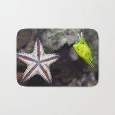 Starfish and Cowfish Photograph Bath Mat
