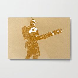 FireWarrior 2 Metal Print