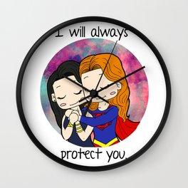 Protection Wall Clock