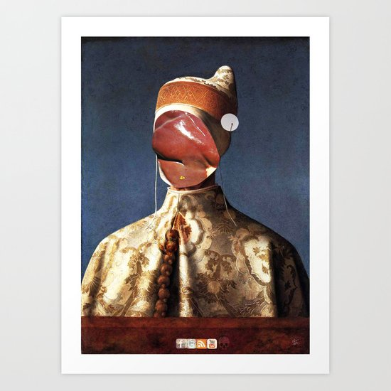 Meat Giovanni Bellini Art Print