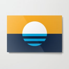 The People's Flag of Milwaukee Metal Print