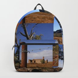 Australian Outback Collage Backpack