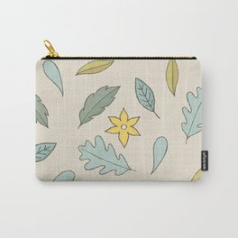 Tea Leaves Hand Drawn Carry-All Pouch