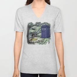 Escape from the Dark Forest Unisex V-Neck