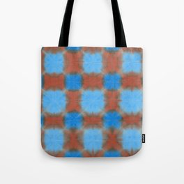 Shibori (blue and brown) Tote Bag
