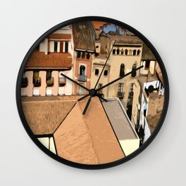 Spain Landscape Wall Clock