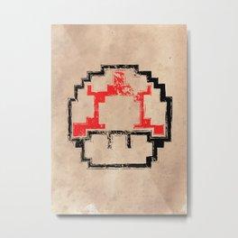 Super Mushroom Metal Print