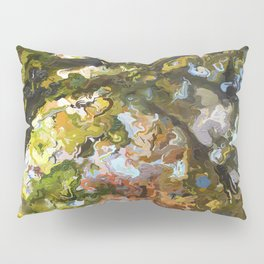 Abstract Forest 1258 Pillow Sham