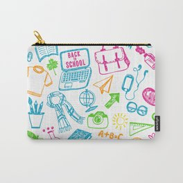 Back to school pattern Carry-All Pouch