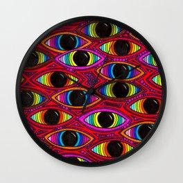 210 - Eyes Wall Clock