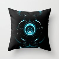 tron Throw Pillows featuring Tron  by Electra