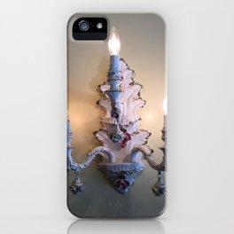 Antique Candelabra Lamp iPhone Case