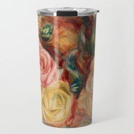 Pierre-Auguste Renoir - Roses Travel Mug
