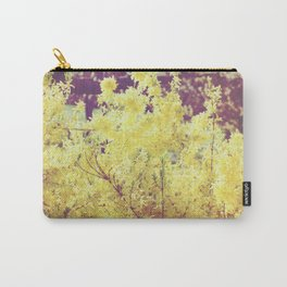yellow flower - Forsythia Carry-All Pouch