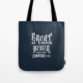 Comfort Zones - Motivation Tote Bag