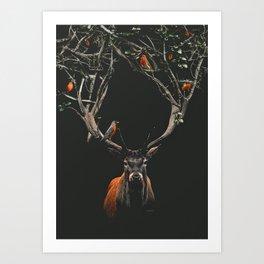 Balance - Digital Collage Art Print