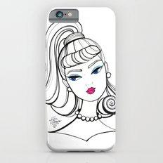 Vintage Fashion Doll Sketch Slim Case iPhone 6s