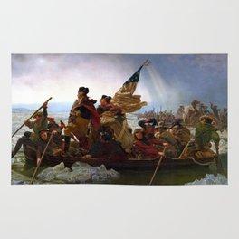 Washington Crossing The Delaware River Rug