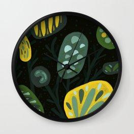 Curious Flora Wall Clock