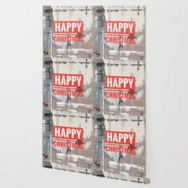 Snowfall - Happy Christmas Wallpaper
