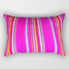 Mexican Fabric Rectangular Pillow