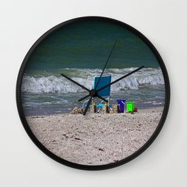 Love in the Distance Wall Clock