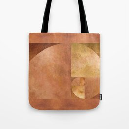 Golden Ratio, Golden Spiral Art Tote Bag