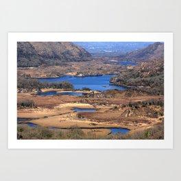 Ladies View Killarney National Park Art Print