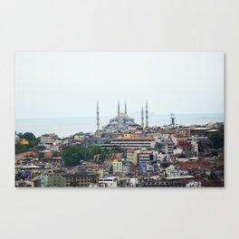 Blue Mosque - Istanbul, Turkey Canvas Print