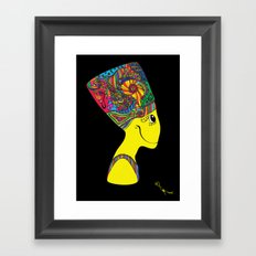 The Brain of Nefertiti Framed Art Print