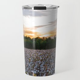 Cotton Field 11 Travel Mug