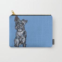 Rupert the Miniature Schnauzer Carry-All Pouch