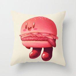 Kirby Patty Throw Pillow
